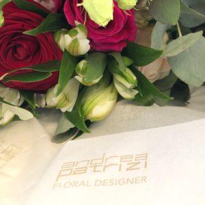 bouquet di rose multicolor | Andrea Patrizi Floral Designer