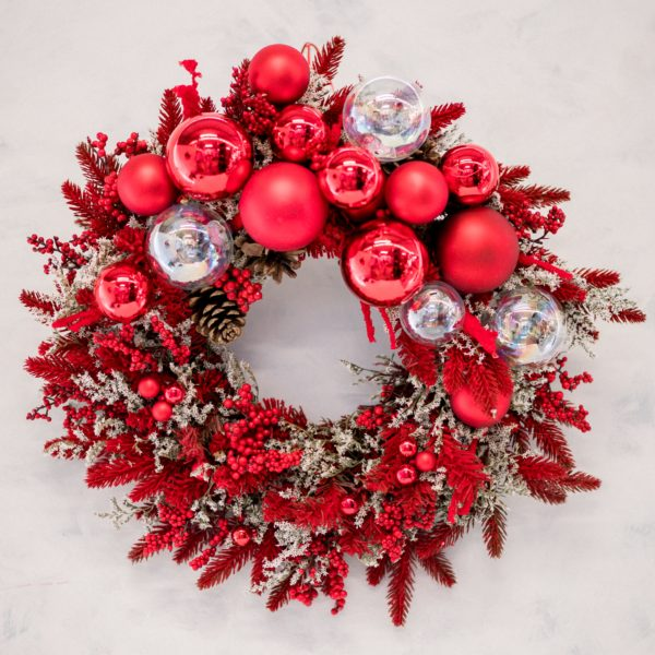 Ghirlanda natalizia | Andrea Patrizi flower design
