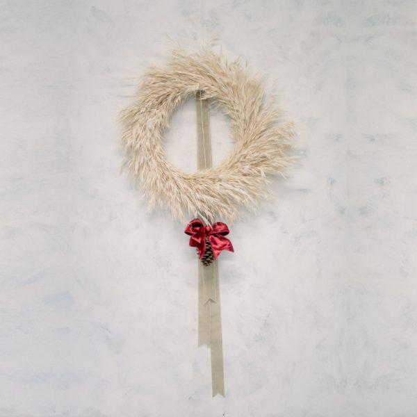 Ghirlanda natalizia essiccata | Andrea Patrizi Flower Shop