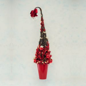 albero in betulla naturale | Andrea Patrizi flower shop